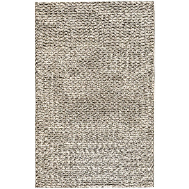 Artist's Loom Hand-knotted Casual Abstract Rug (7'9 Round) - 7'9