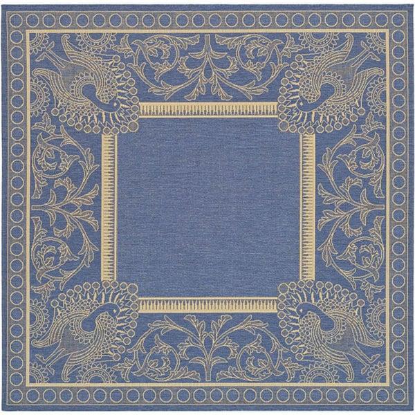 Safavieh Abaco Blue/ Natural Indoor/ Outdoor Rug - 6'7