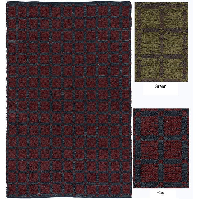 102b905a0581 Artist's Loom Hand-woven Contemporary Geometric Natural Eco-friendly Fiber  Rug (2'6 x 6') - 2'6