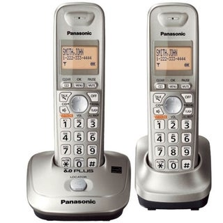 Panasonic KX-TG4012N DECT 6.0 1.90 GHz Cordless Phone - Champagne Gol
