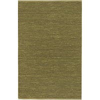 Hand-woven Hilo Lime Green Natural Fiber Jute Area Rug (9' x 13')