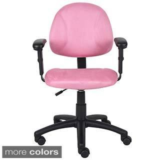 Boss Microfiber Contemporary Deluxe Posture Chair