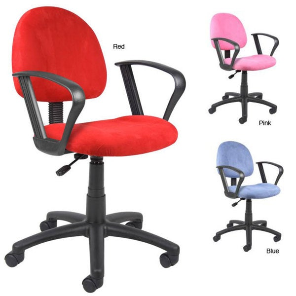 Boss Microfiber Deluxe Posture Chair