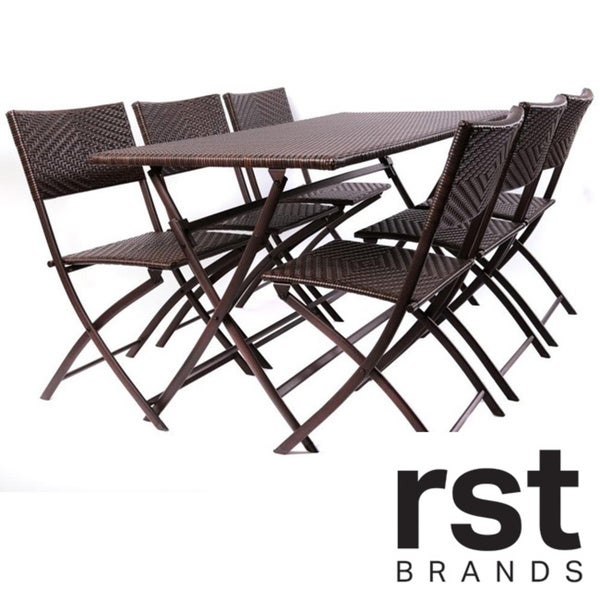 Red Star Traders Perfect Outdoor Folding Table Chair Set
