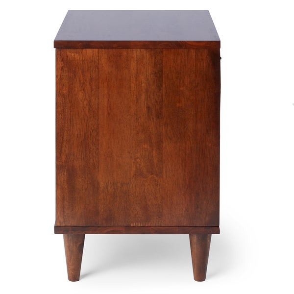 Vilas 1 Drawer Nightstand   Free Shipping Today   Overstock.com   12704068