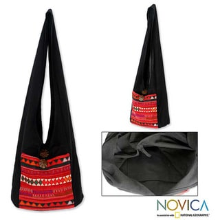 Link to Cotton 'Akha Dreams' Shoulder Bag (Thailand) Similar Items in Shop By Style