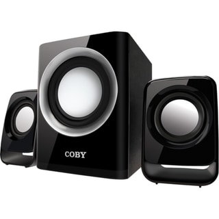 Coby CSMP67 2.1 Speaker System - 50 W RMS