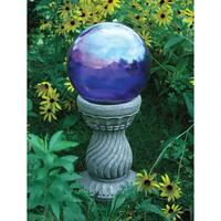 Echo Valley Serpentine Globe Pedestal