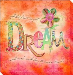 Connie Haley 'Dream' Canvas Giclee Art