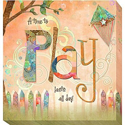 Connie Haley 'Play' Canvas Giclee Art
