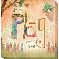 Connie Haley 'Play' Canvas Giclee Art
