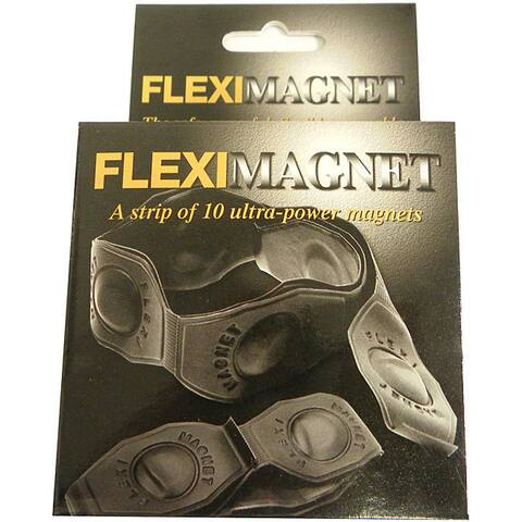Neodymium Rare Earth Flexi Magnet with Ferro-vinyl Sheets (Pack of 10)