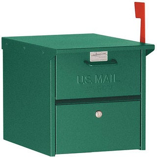 Salsbury 4300 Series Retro Green Roadside Mailbox