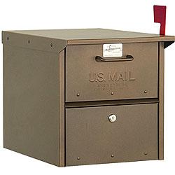 Salsbury Bronze Roadside Mailbox