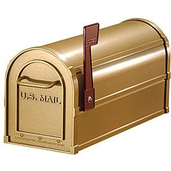 Salsbury Heavy-duty Brass Rural Mailbox