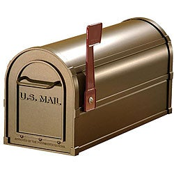 Salsbury Bronze Heavy-duty Rural Mailbox