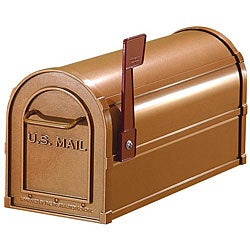 Salsbury Copper Finish Heavy-duty Rural Mailbox