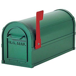 Salsbury 4800 Series Green Heavy-duty Aluminum Rural Mailbox