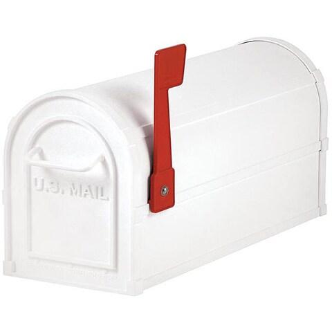Salsbury Heavy-duty White Rural Mailbox