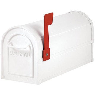 Salsbury Heavy-duty White Rural Mailbox