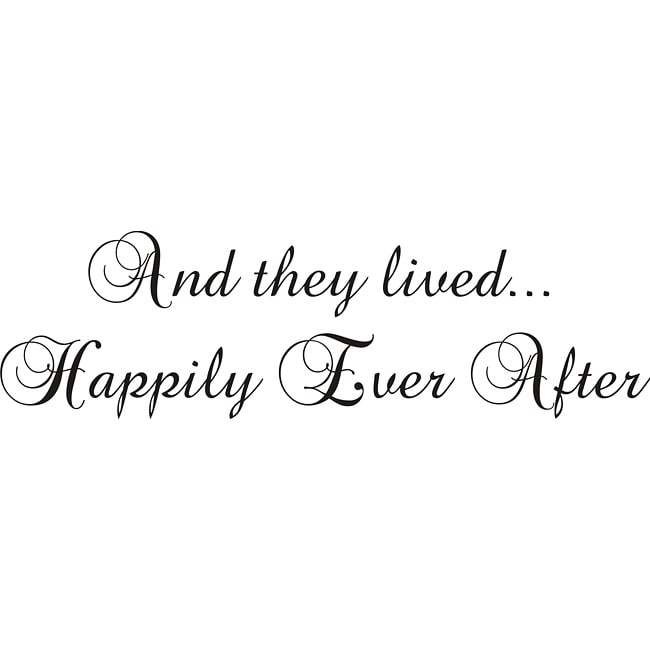 Shop Design On Style And They Lived Happily Ever After Black Vinyl