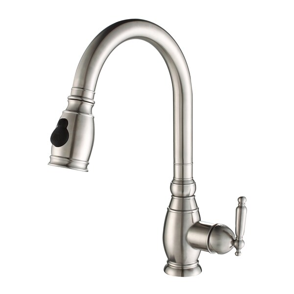 Kraus 100-percent Steel Pullout Kitchen Faucet