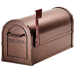 Heavy-duty Rural Mocha Mailbox