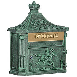 Victorian Wall-mounted Mailbox
