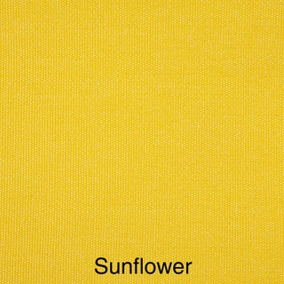 """Indoor/ Outdoor 60"""" Bench Cushion with Sunbrella Fabric Solid Bright (Option: Sunflower Yellow)"""