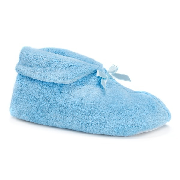 062c6f7d58495 Shop Muk Luks Women's 'Soft Ones' Bootie Slippers - Free Shipping On ...