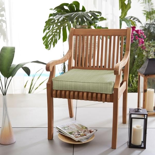 Shop Sunbrella Indoor Outdoor Textured 19 In Chair