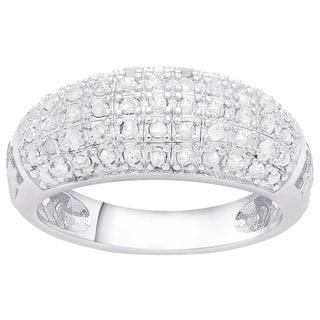 Finesque Sterling Silver 1/2ct TDW Diamond Fashion Ring (J-K, I3)|https://ak1.ostkcdn.com/images/products/4817480/P12710766.jpg?impolicy=medium