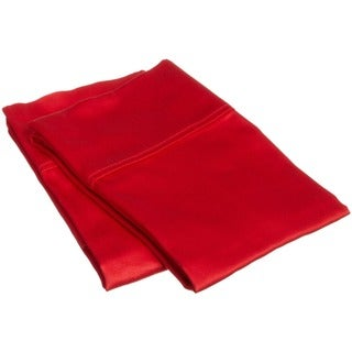 Superior 300 Thread Count Cotton Sateen Pillowcase Set (Set of 2)