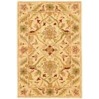 Safavieh Handmade Mahal Ivory Wool Rug - 3' x 5'