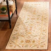 Safavieh Handmade Mahal Ivory Wool Rug - 6' x 9'