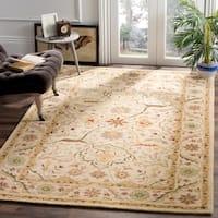 "Safavieh Handmade Mahal Ivory Wool Rug - 8'3"" x 11'"