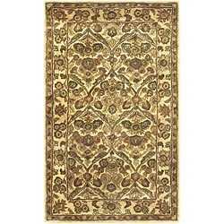 Safavieh Handmade Treasured Gold Wool Rug (3' x 5')