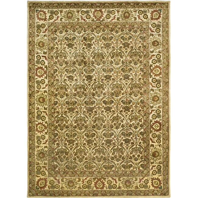 Safavieh Handmade Treasured Gold Wool Rug (6' x 9')