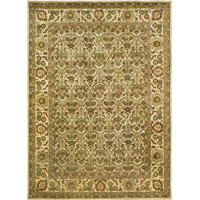 Safavieh Handmade Treasured Gold Wool Rug - 8'3 x 11'