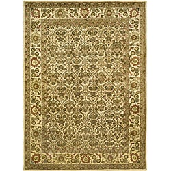 Safavieh Handmade Treasured Gold Wool Rug - 8'3 x 11' - Thumbnail 0