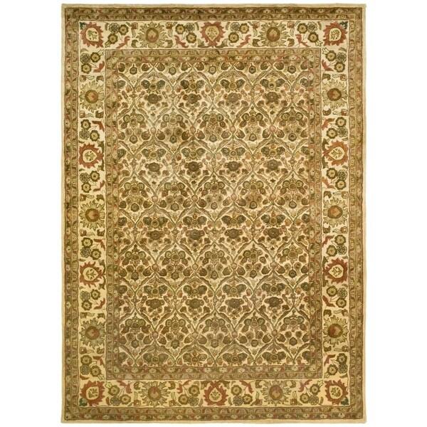"Safavieh Handmade Treasured Gold Wool Rug - 8'-3"" X 11'"