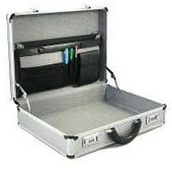 Copa Aluminum Silver 5-inch Attache Case
