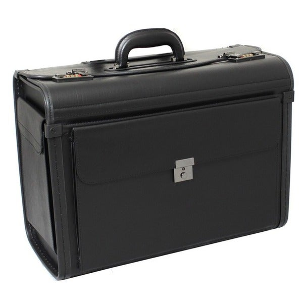 Manchester Deluxe Leatherette Black Catalog Sample Case. Opens flyout.