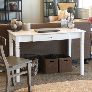 White Wood Computer Desk