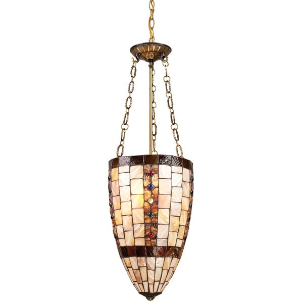 Hastings Antique Brass 3-light Pendant