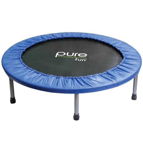 Pure Fun 40-inch Mini Rebounder Trampoline