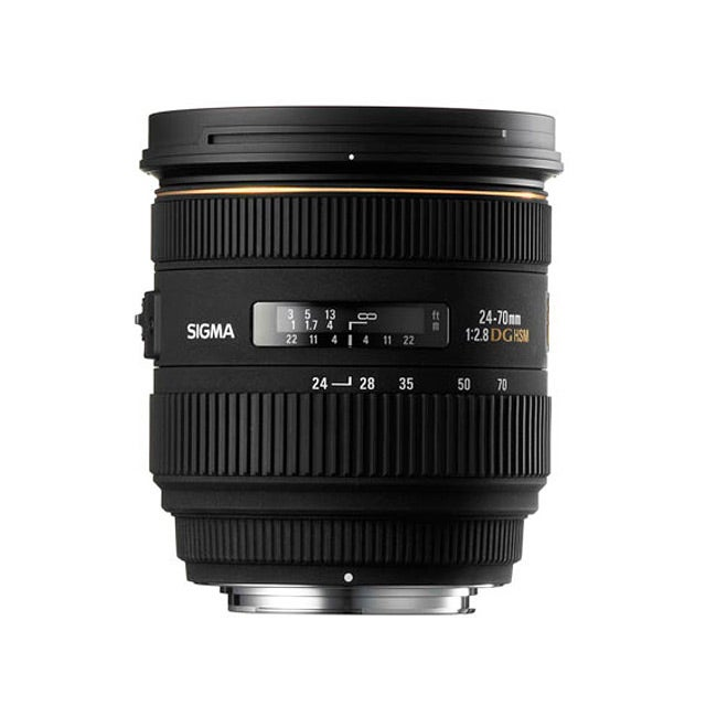 40174df8764 Shop Sigma 24-70mm F2.8 IF EX DG HSM AF Nikon Lens - Free Shipping Today -  Overstock - 4820237