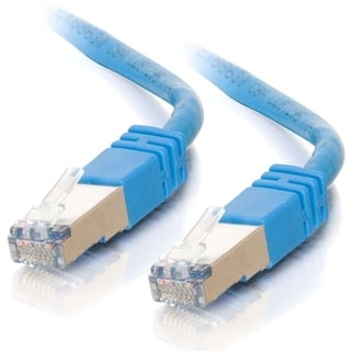 7ft Cat5e Molded Shielded (STP) Network Patch Cable - Blue