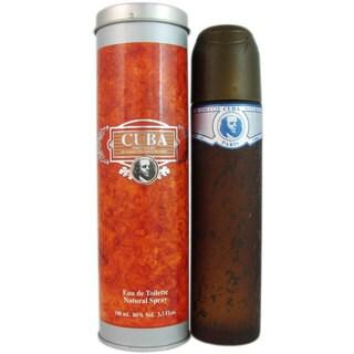 Cuba Blue Men's 3.4-ounce Eau de Toilette Spray