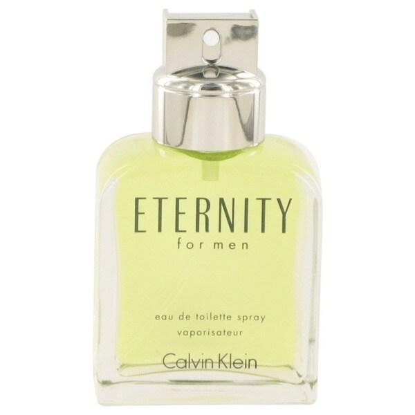 Perfume Tester Review: Shop Calvin Klein Eternity Men's 3.4-ounce Eau De Toilette Spray (Tester)